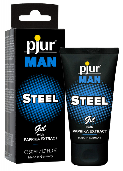 pjur MAN Steel Gel 50ml